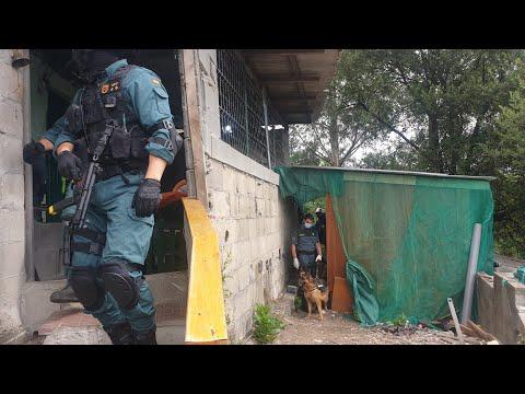 La Guardia Civil desarticula uno de los puntos más activos de venta de droga en el poblado de O Vao