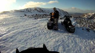 5,000 km of scenic snowmobile trails and incredible backcountry in Newfoundland and Labrador