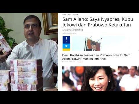 NGAKAK...Demi Kalahkan Jokowi dan Prabowo, Hari Ini Sam Aliano 'Kawini' Mantan Istri Ahok