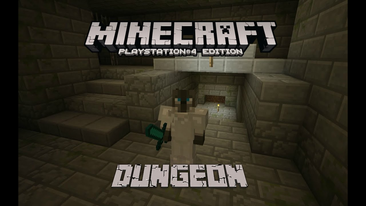 Minecraft Survival Ps4 Lets Play Ep 48 Dungeon Crawl