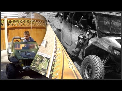 Boys' Toys , Modified Power Wheels Jeep Hurricane 18v ...