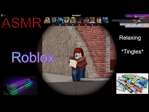 ASMR - Roblox - Keyboard sounds Gum chewing