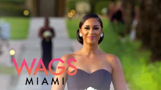 WAGS Miami | Darnell Nicole Tears Up During Ashley & Philip's Wedding | E! thumbnail
