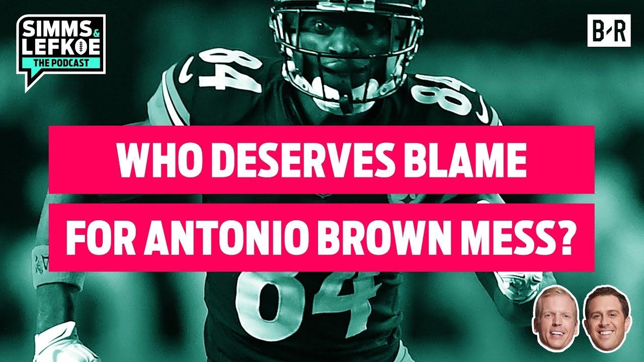 huge selection of 5cd45 8f152 Who Deserves BLAME for Antonio Brown Mess In Pittsburgh? 🤔 | Week 17 Film  Notebook