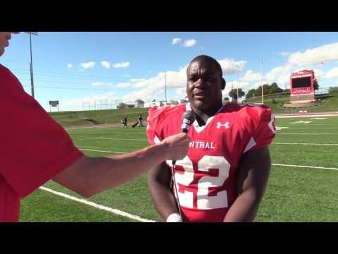 Central v. BVU Post Game Interview: Edwin Etienne