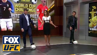 Kenny Florian and Michael Bisping play Pitch Perfect | WORLD CUP CHALLENGE | UFC TONIGHT