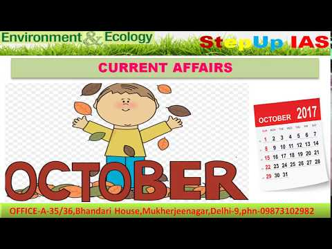 Prelims Smasher Series: Environment & Ecology (PSS) EE 21 - Environment Current Affairs October