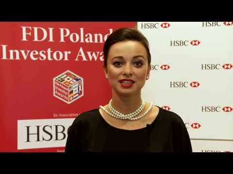 The 4TH annual FDI Poland Investor Awards Gala - TOP FRENCH INVESTOR IN POLAND - SII