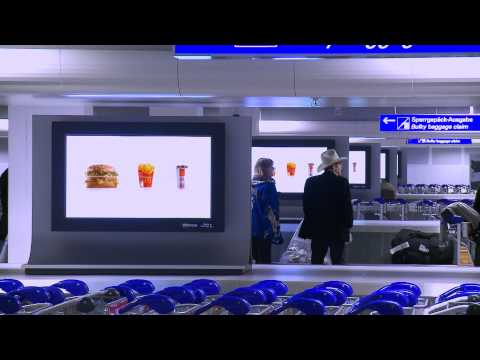Digital Network Frankfurt Airport .mp4