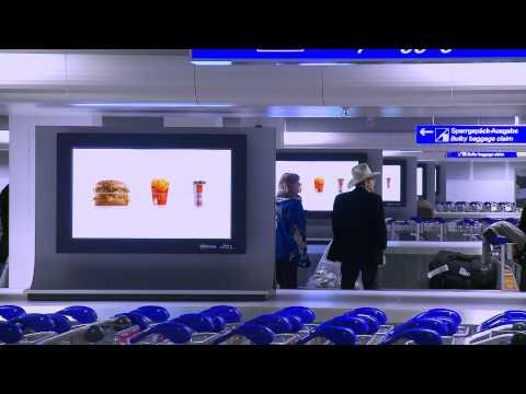 Digital Network Frankfurt Airport .mp4