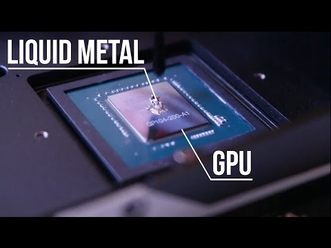 Replacing GPU Thermal Compound With Liquid Metal?