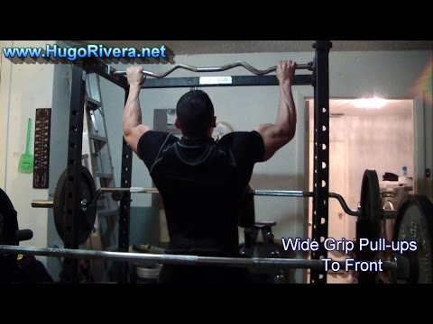 Chest, Back & Calves Short Bodybuilding Training Routine – Workout Vlog 36