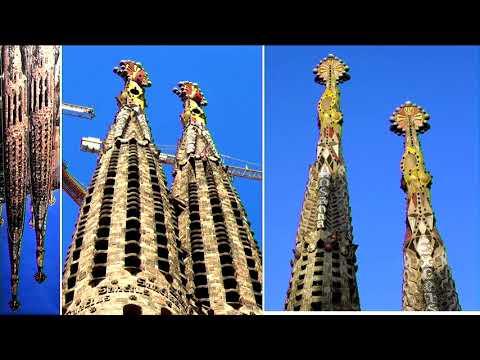 Completing La Sagrada Familia, a talk by Tristram Carfrae