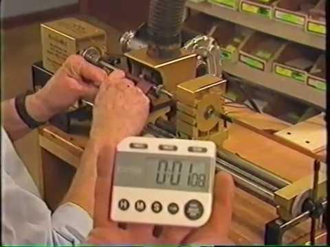 WoodWrite Slimline in under 2:00 min.