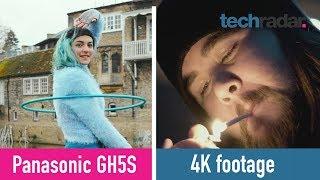 Panasonic GH5S: 4K footage
