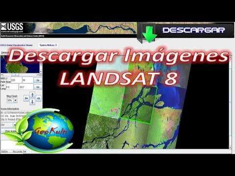 Como Descargar Imagenes Landsat 8 [2017]   GLOVIS - USGS