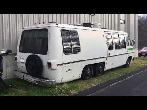 1973 Gmc motorhome Bus Conversion Skoolie Project - YouTube