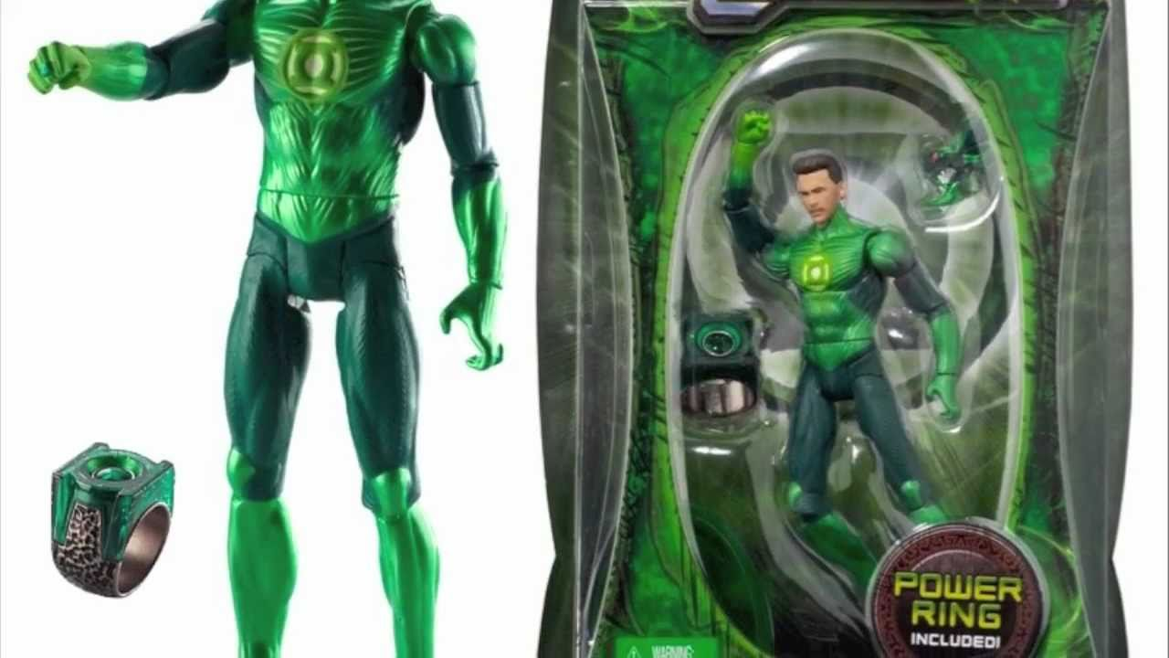 "Mattel DC 3.75/"" Green Lantern Hal Jordan Movie Figure and Ring TRU Exclusive"