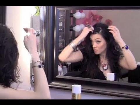How To Swoop Bangs Hair Tutorial Youtube