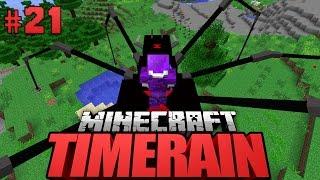 RIESIGES SPINNENHAUSTIER?! - Minecraft Timerain #021 [Deutsch/HD]