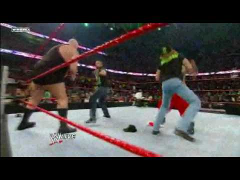 hornswoggle sweet chin music
