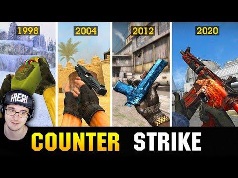 😱 КАК Counter-Strike СТАЛ ИЗВЕСТНЫМ 1998-2020 , ТЫ ОФИГЕЕШЬ !!! ► King DM | Реакция