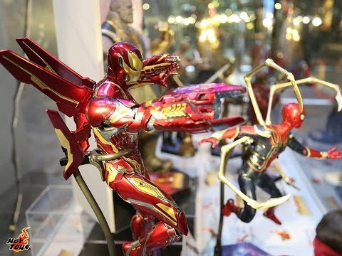 Avengers Infinity War Hot Toys exhibition HK in Hong Kong in HD
