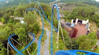 Wild Eagle left front seat on-ride HD POV @60fps Dollywood