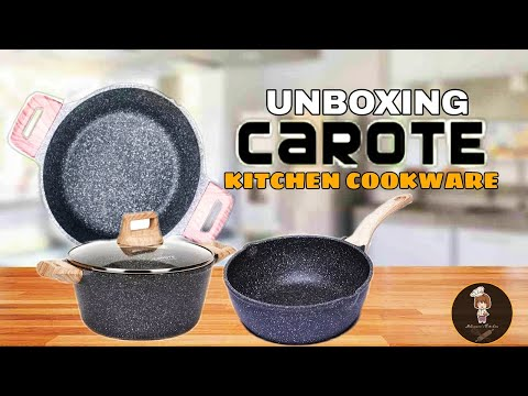 UNBOXING CAROTE KITCHEN