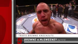 Top 5 - Travis Browne Knockouts