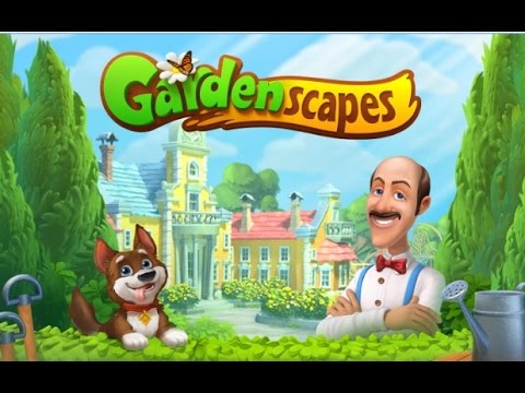 Gardenscapes  - New Acres (gameplay video on Android)
