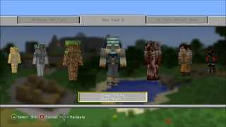 Minecraft Skins Pack 5 - Xbox 360 Edition