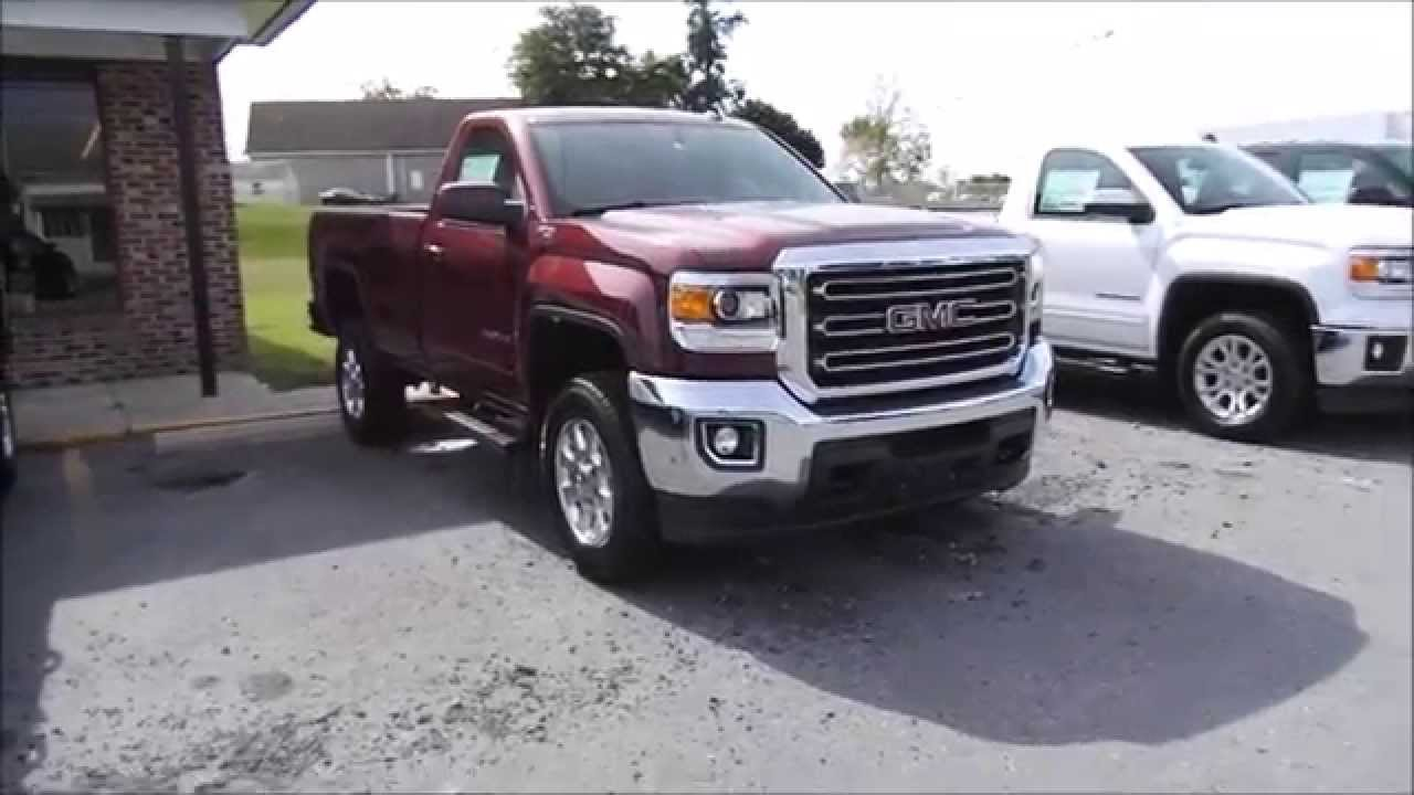 2015 GMC Sierra 2500HD Z71 SLE 4X4 6.0L V8 Start Up, Tour ...