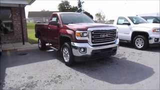2015 GMC Sierra 2500HD Z71 SLE 4X4 6.0L V8 Start Up, Tour, and Review