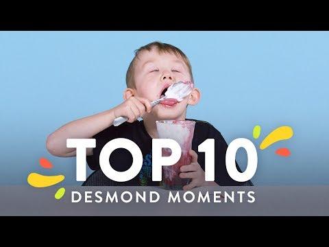 Top 10 Desmond Moments | Top 10 | HiHo Kids