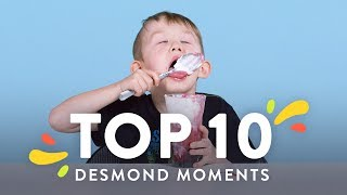 Top 10 Desmond Moments | Top 10 | HiHo Kids