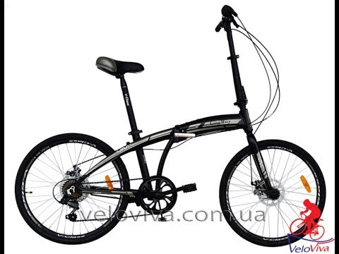 Складной велосипед VNC Longway. Веломагазин VeloViva