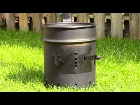 DIY Woodstove Instructions - Step by Step
