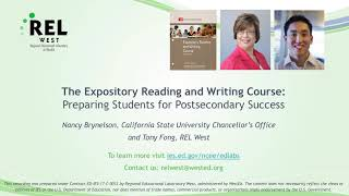 In this rel west audio interview, senior policy associate and lead for the college preparation partnership tony fong talks with nancy brynelson of califo...