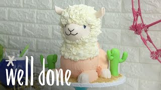 How to Make Cutest Cake Ever | Koalipops | Well Done