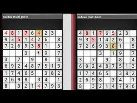 """Sudoku Android: multiplayer """"More cells"""" mode"""
