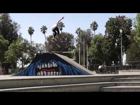 X games trick tips -- aaron homoki backside 360 melon grabs