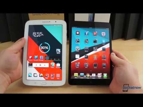 Galaxy Note 8.0 vs iPad Mini | Pocketnow