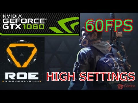 ROE Gameplay GTX 1060 HIGH SETTINGS   RING OF ELYSIUM [ FULL HD 60 FPS ]
