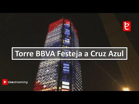 Torre BBVA festeja a Cruz Azul por su triunfo | www.edemx.com