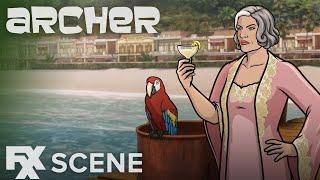 Archer | Season 9 Ep. 4: Coconut Butter Scene | FXX