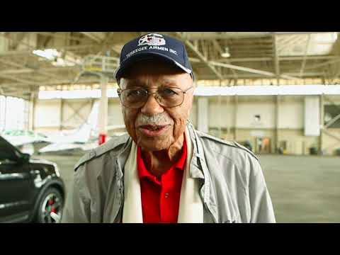 "Hear from the Tuskegee Airmen featured in the documentary ""In Their Own Words"""