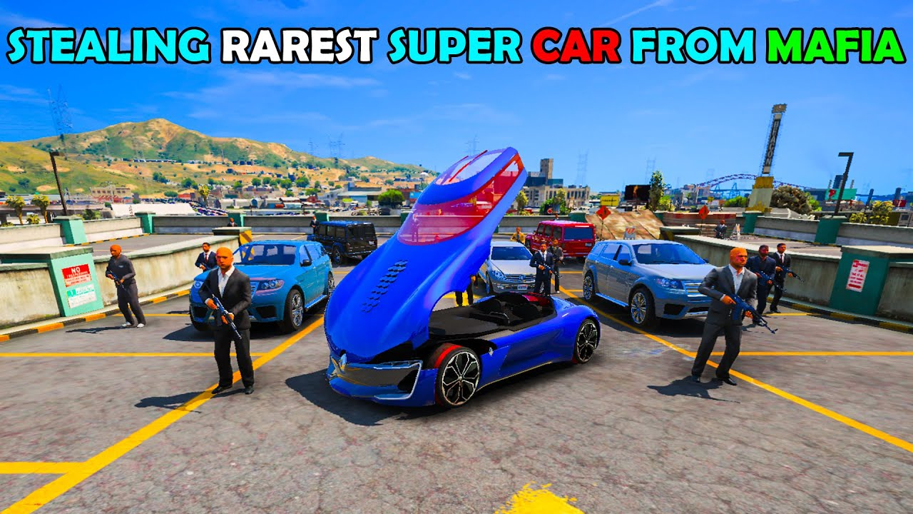 MAFIA യുടെ  RAREST SUPER CAR മോഷ്ടിച്ചു | STEALING MOST RAREST SUPER CAR FROM MAFIA | GTA 5 | AR7 YT