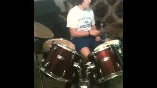 "Justin Mcroberts drum solo ""Indian song"""