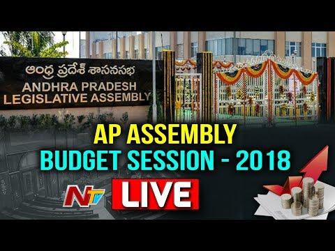 Andhra Pradesh Assembly Sessions LIVE || AP Budget Session 2018 || 13-03-2018 || NTV